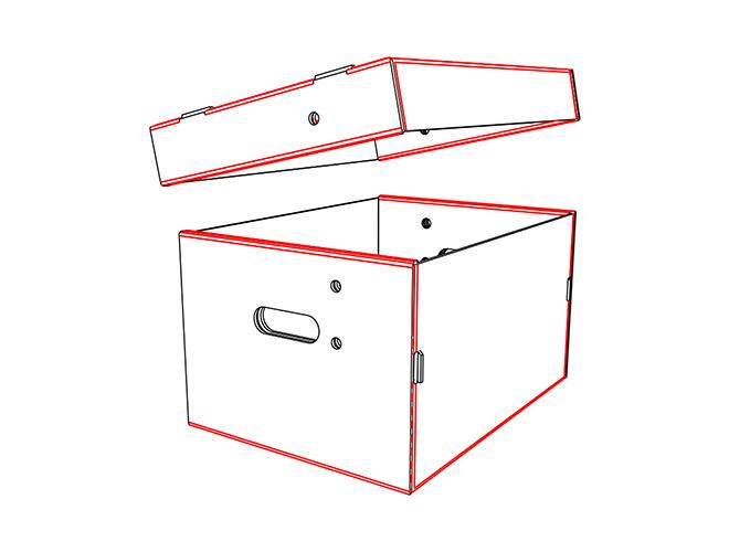 CAJA FEFCO F PARA ARCHIVOS MULTIUSOS AUTOARMABLE BOXIS 2 BASE MULTIUSOS, ARCHIVOS, ENVIOS, MERCADOLIBRE 420X310X234