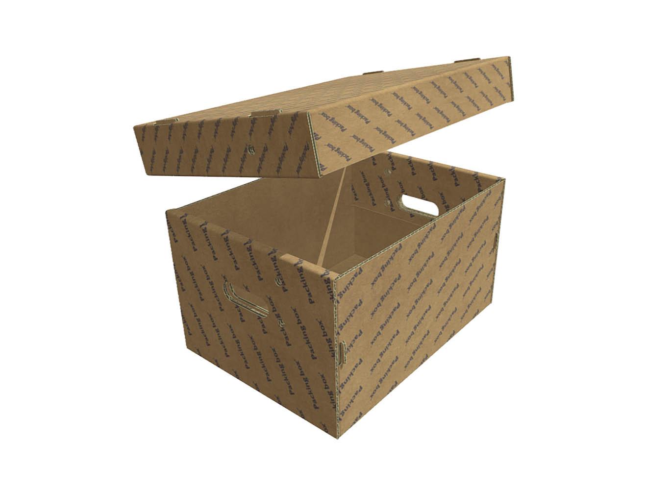 CAJA FEFCO F PARA ARCHIVOS APLICACIONES VARIAS AUTOARMABLE BOX 2BOXIS 2 TAPA CARNES, CERDO, CORDERO 443X322X65