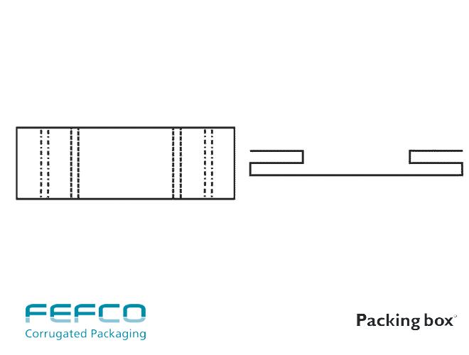 INTERIOR FEFCO F0950 PARA APLICACIONES VARIAS