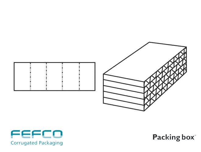 INTERIOR FEFCO F0965 PARA APLICACIONES VARIAS