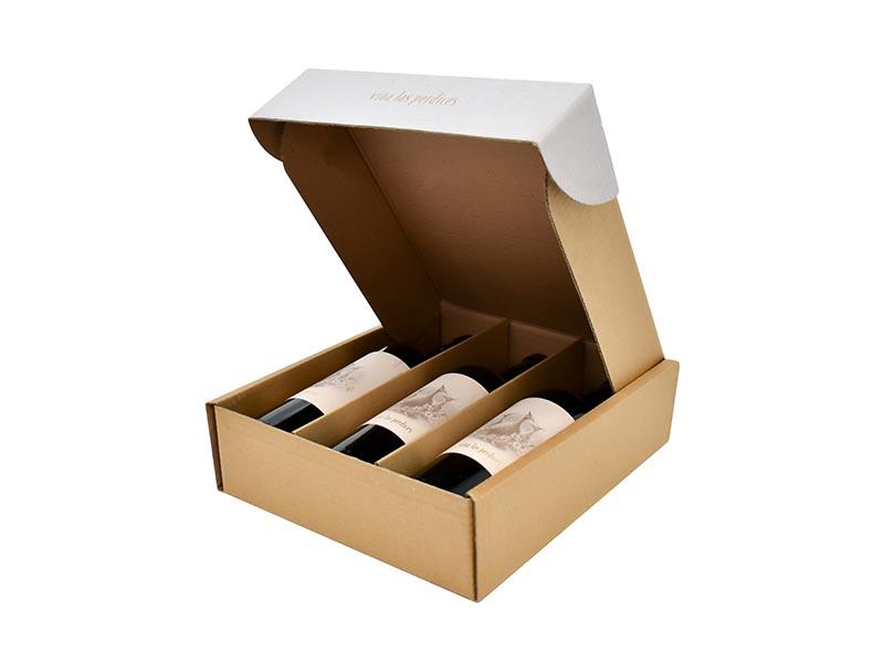 Cajas para Botellas y Bebidas