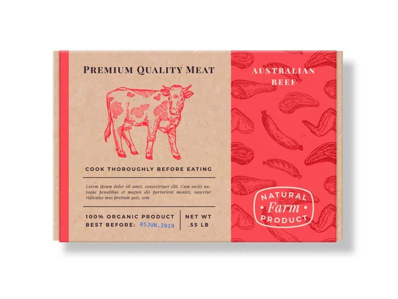 Cajas para Carne