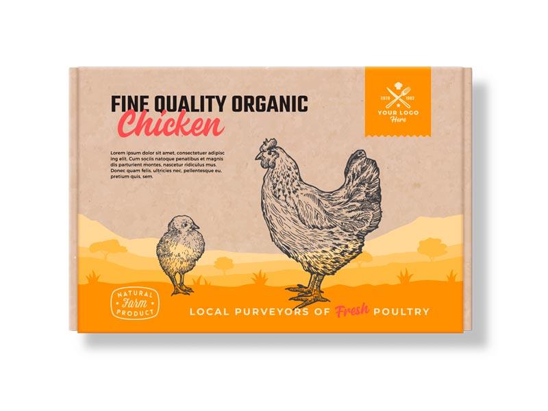 Cajas para aves y huevos