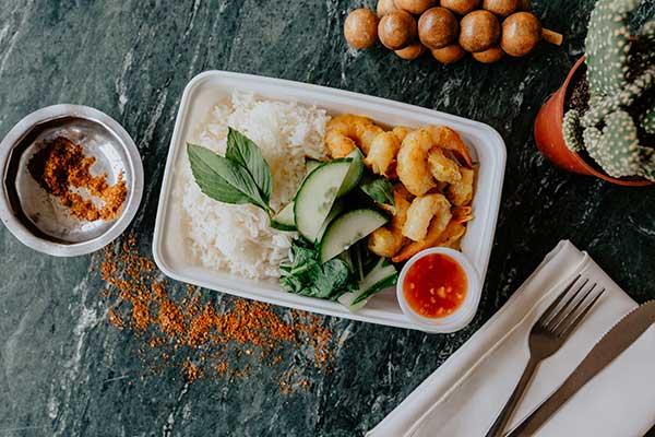 Favorites thai shrimp