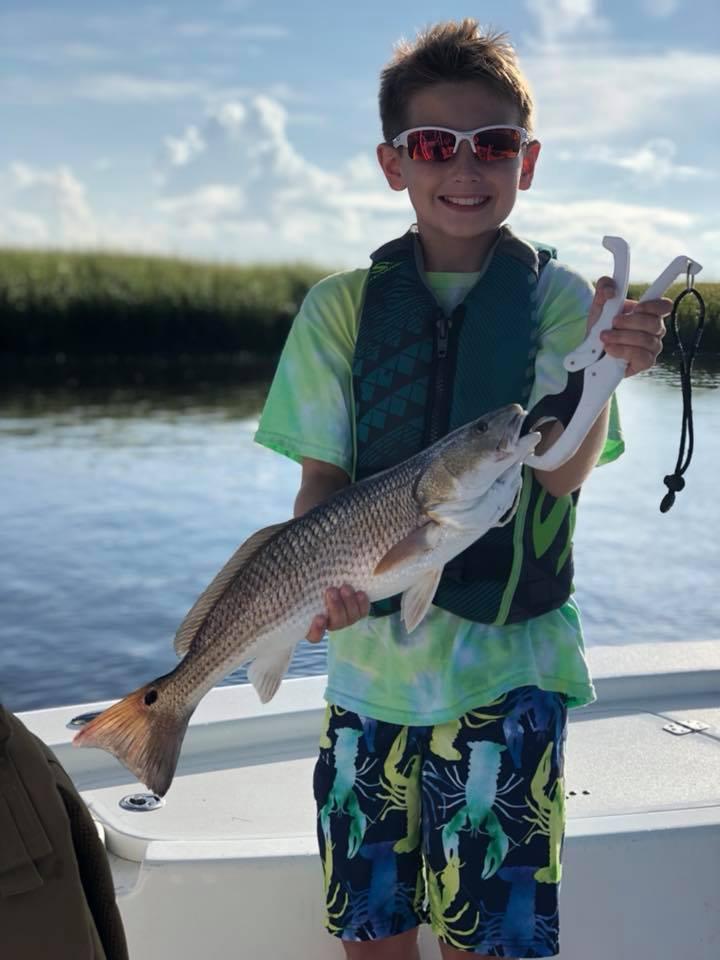 kid friendly fishing charter