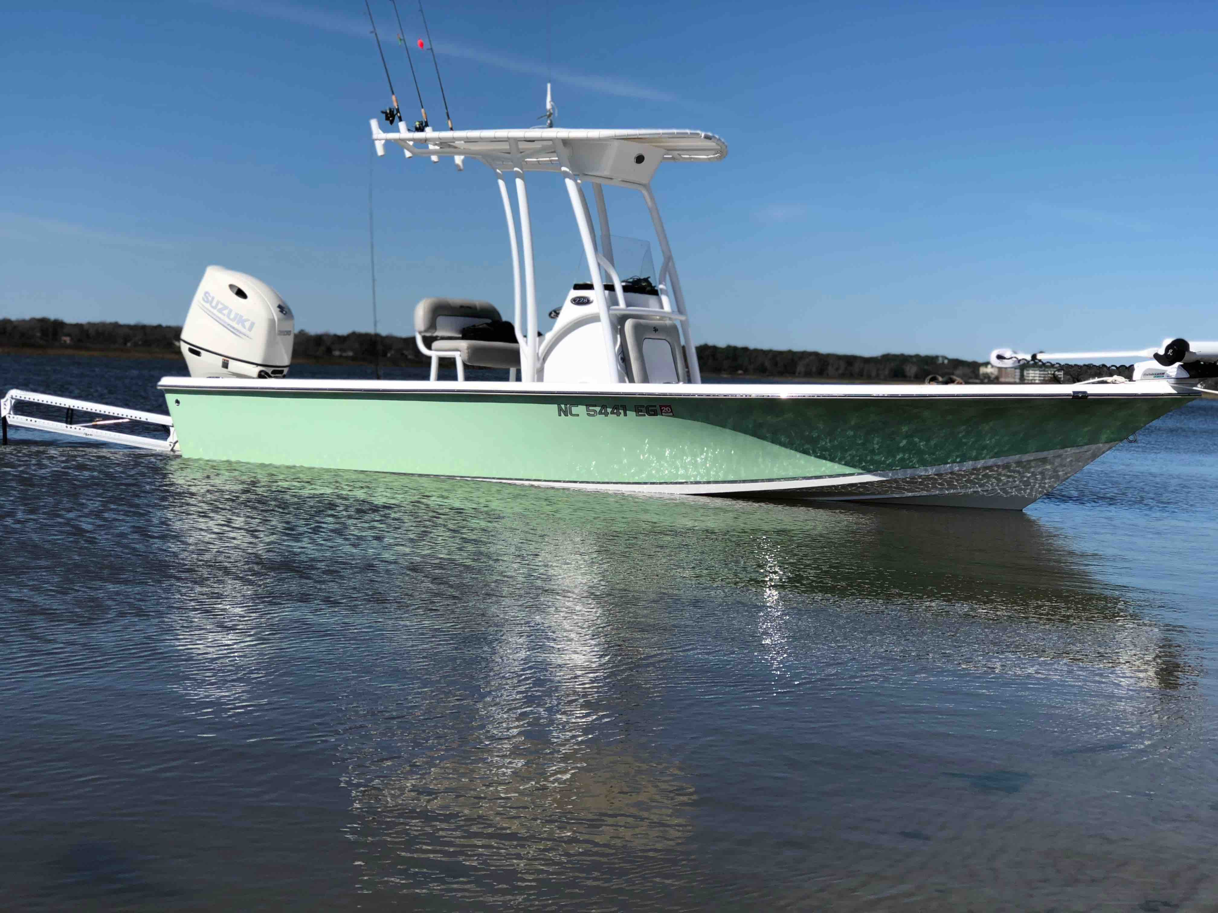 Tideline Charters offers nearshore fishing tours