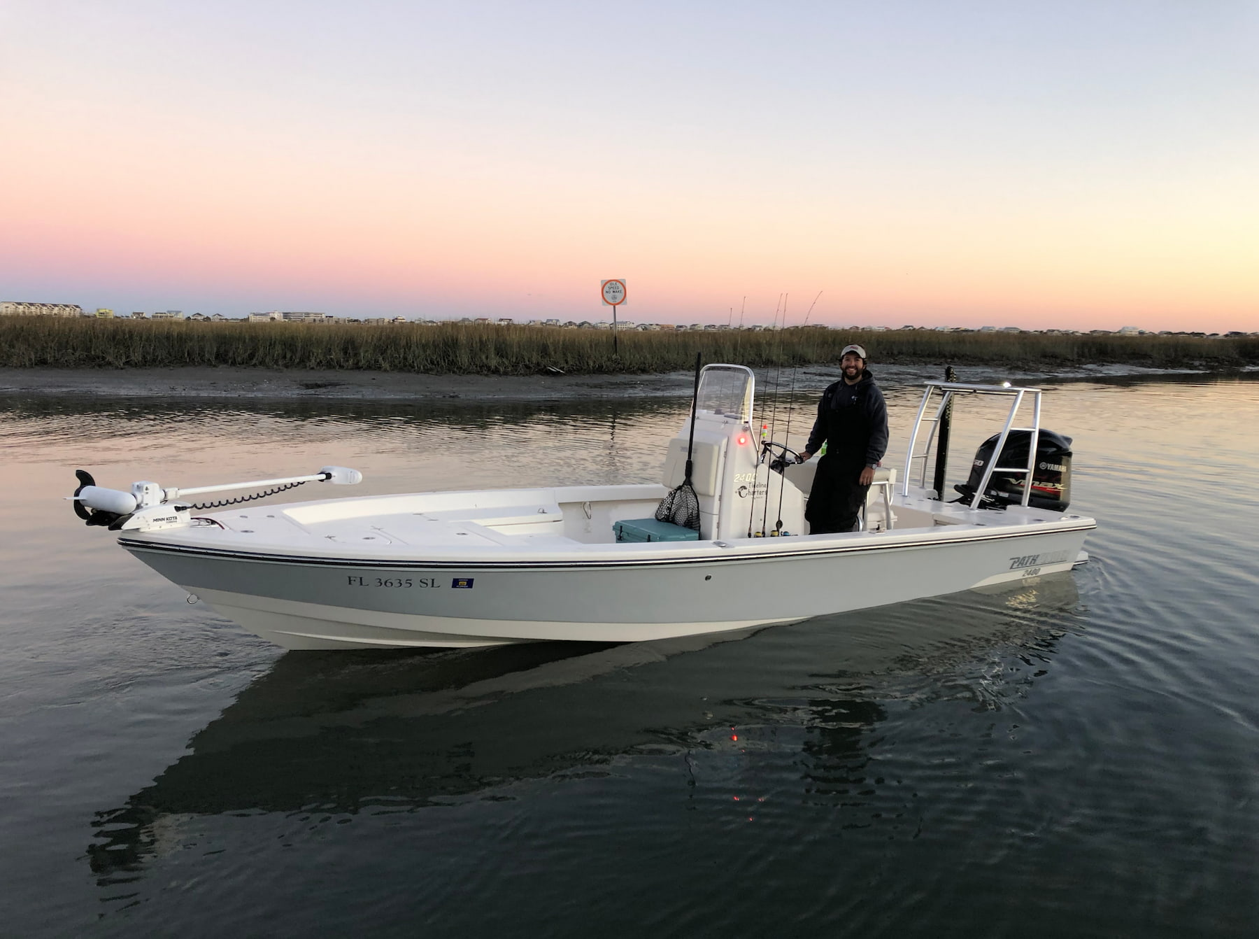 Tideline Charters of Sunset Beach offers inshore fishing tours
