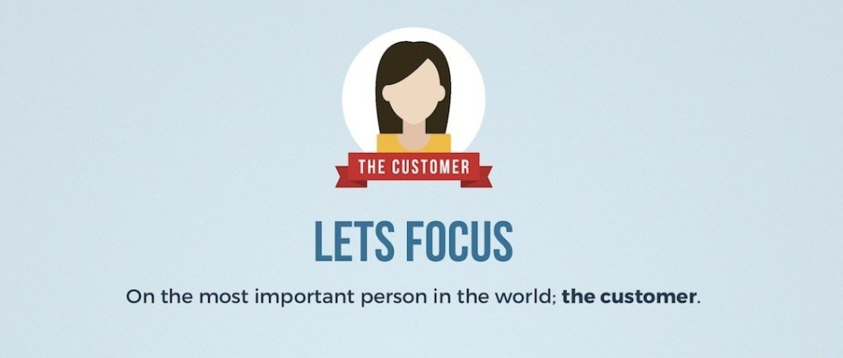 focus on the customer value proposition