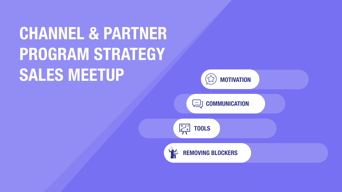 Channel & Partner Program Strategy Sales Meetup