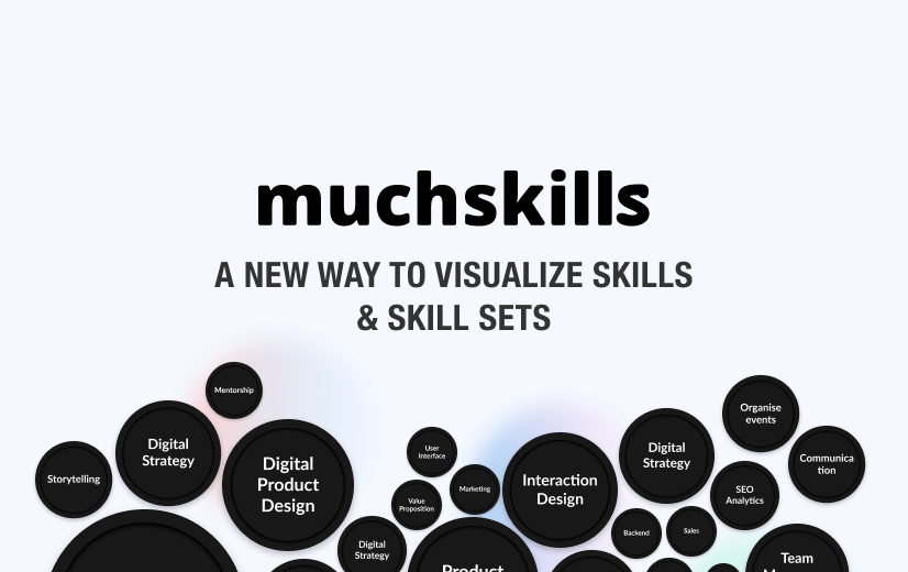 Team Up Strategy Lab develops MuchSkills – a new way to visualize skills and skill sets
