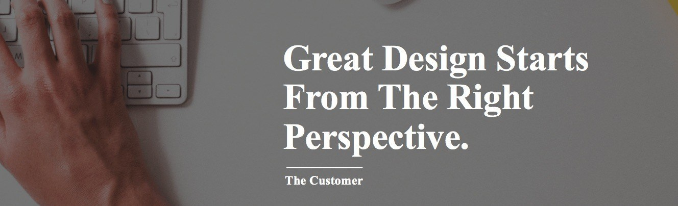 Great sales process engineering design start from the right perspective