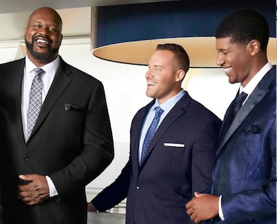 WILHELMINA TITANS AND SHAQUILLE O'NEAL FOR JCPENNEY