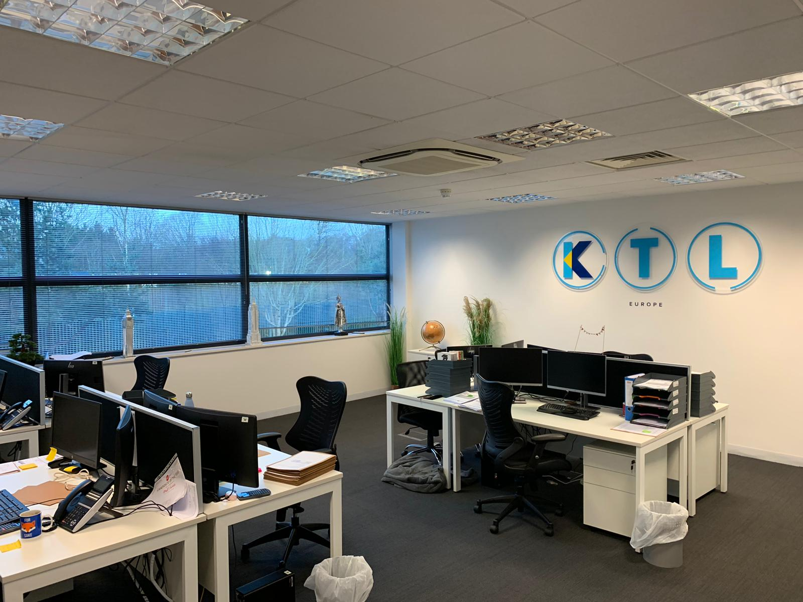 The KTL Europe team are back in the office