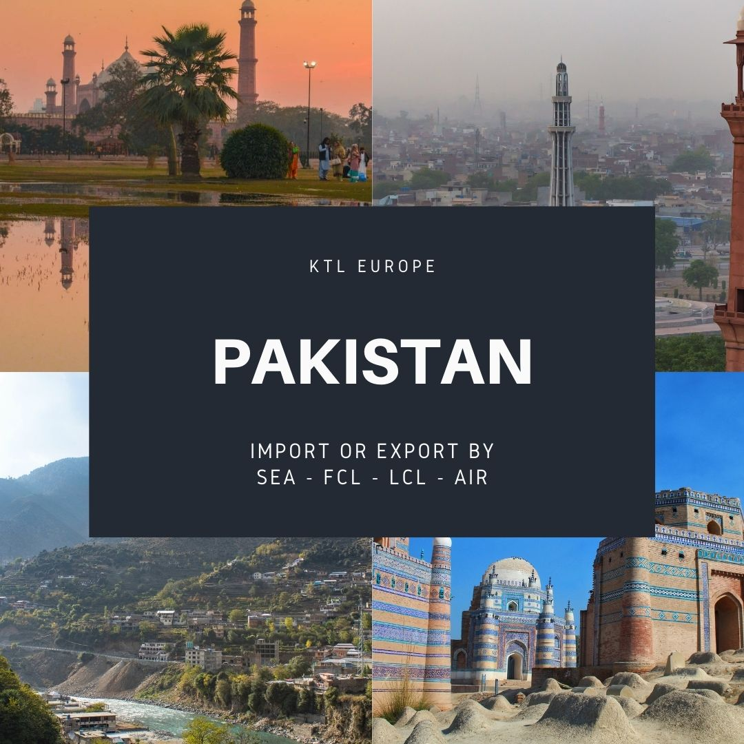 Shipping between the UK and Pakistan