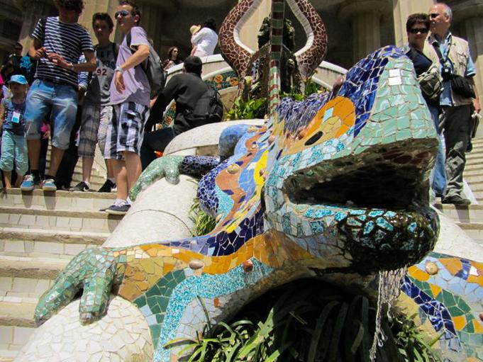 Salamandre Parc Guell