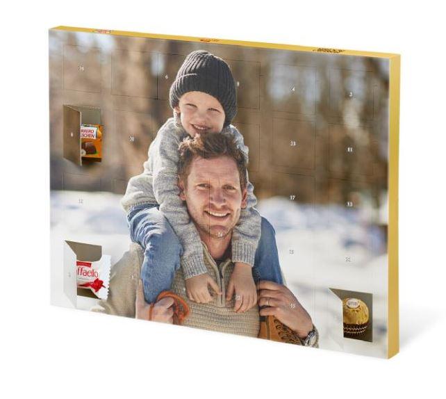 Premium-Adventskalender mit Ferrero Pralinen