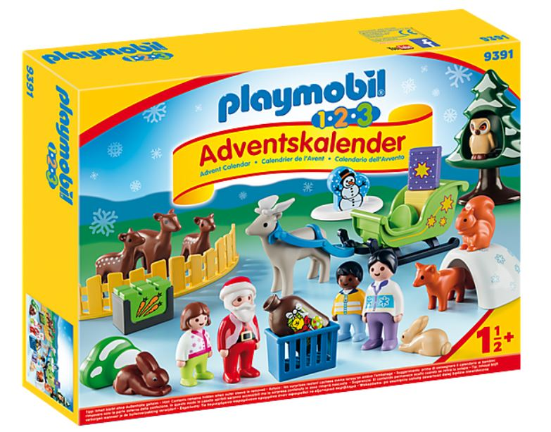 """1.2.3 Adventskalender """"Waldweihnacht der Tiere"""" (9391)"""