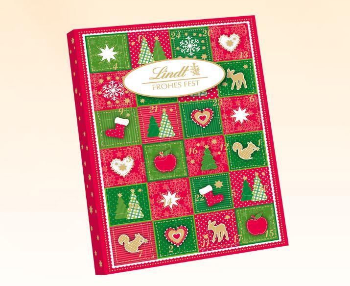 Frohes Fest Mini-Tischkalender