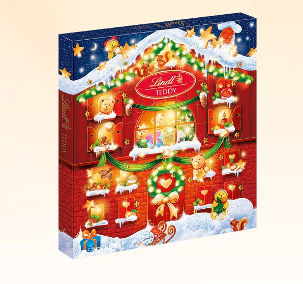 Kleiner Teddy Adventskalender