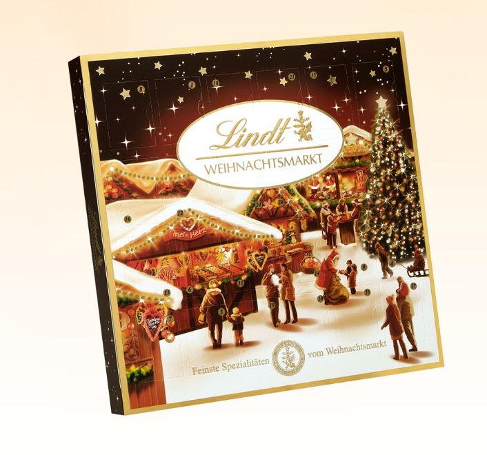 Weihnachtsmarkt Mini-Tischkalender