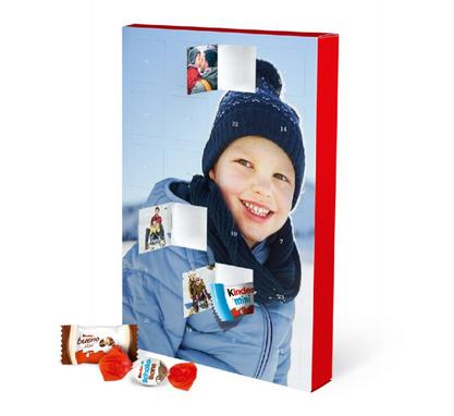 Foto-Adventskalender mit Schokolade von kinder® - Bild 2