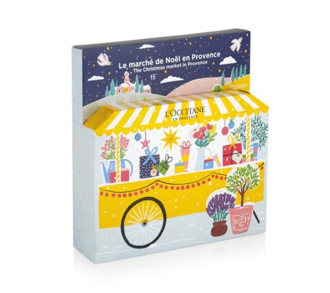 """Adventskalender """"Weihnachtsmarkt in der Provence"""""""