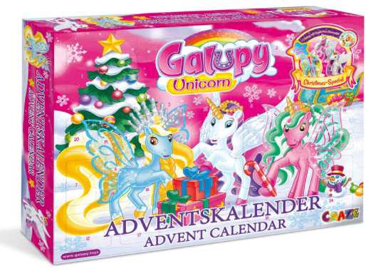 Craze Adventskalender 2020 - GALUPY Unicorn