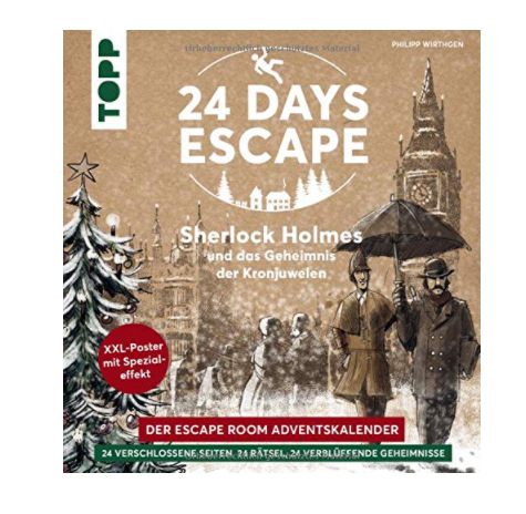 24 DAYS ESCAPE – Der Escape Room Adventskalender