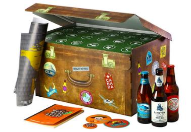 Adventskalender mit Bier (Geschenkbox)