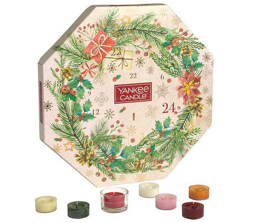 Teelichter Adventskalender