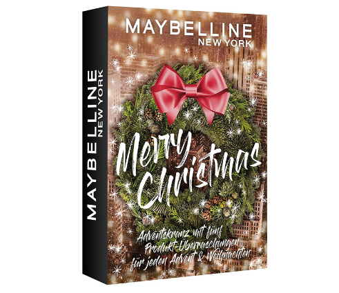 Maybelline New York Adventskranz