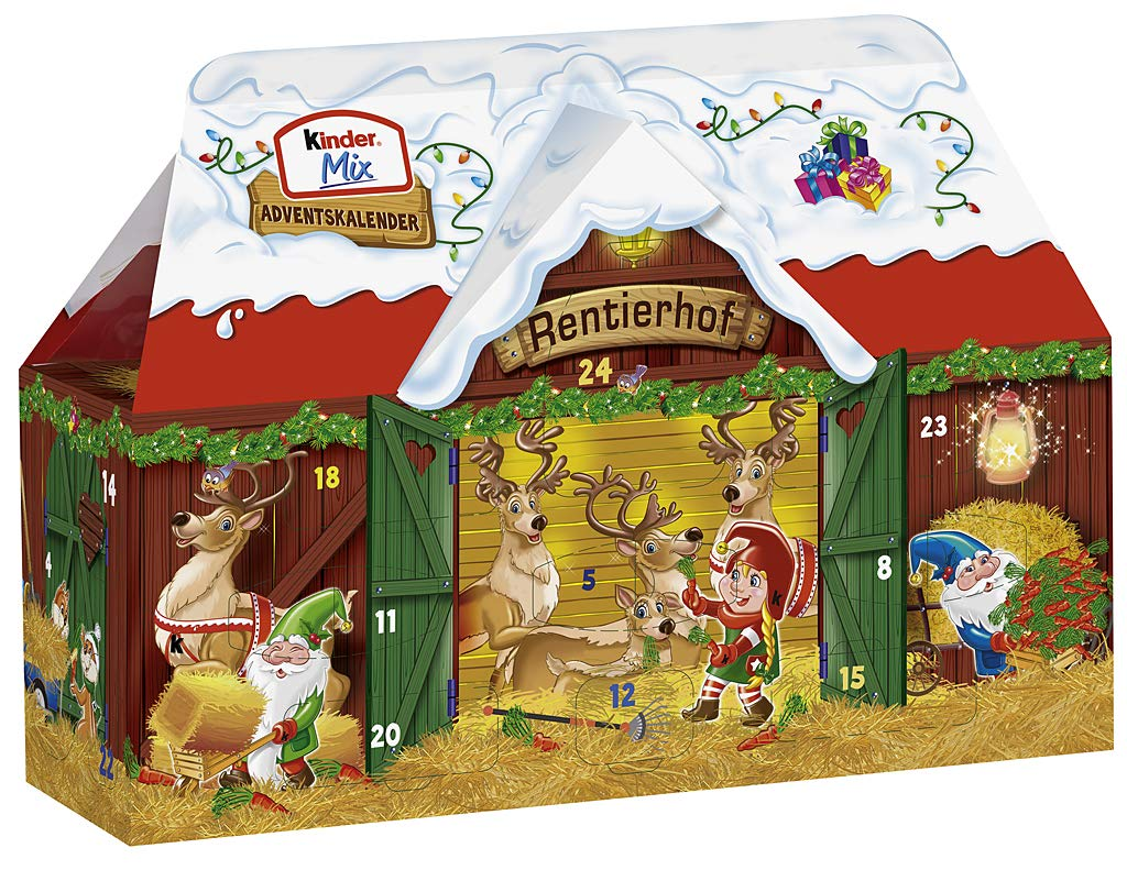 Ferrero Kinder Mix Adventskalender
