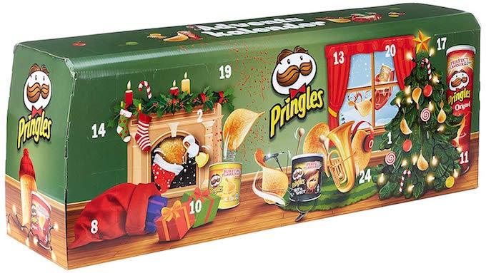 Pringles Adventskalender (grün)