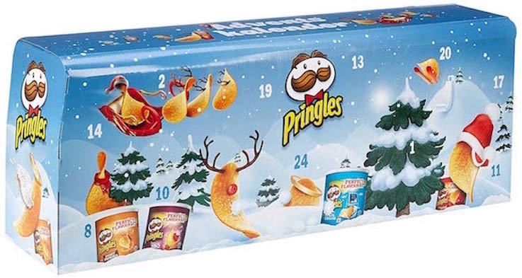 Pringles Adventskalender (hellblau)