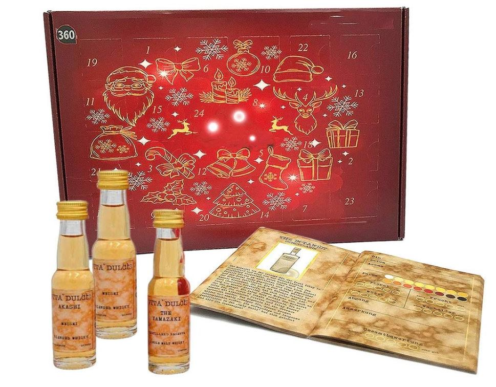 Whisky Adventskalender International - Edition 2020