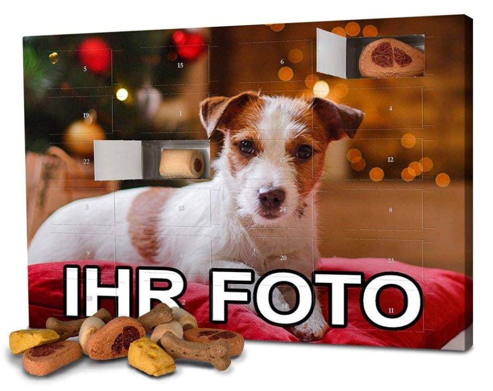 Personalisierter Weihnachtskalender für Hunde 2020