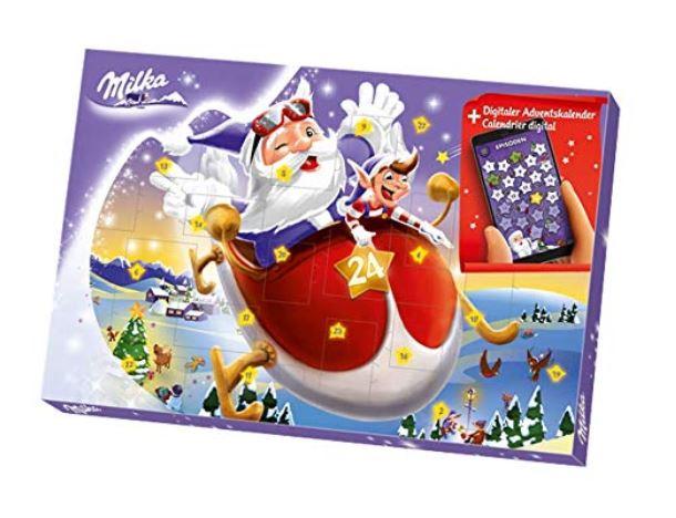 Schokoladen Adventskalender mit digitalen Überraschungen