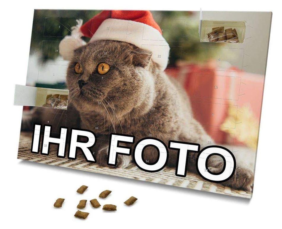 Personalisierter Weihnachtskalender für Katzen 2020