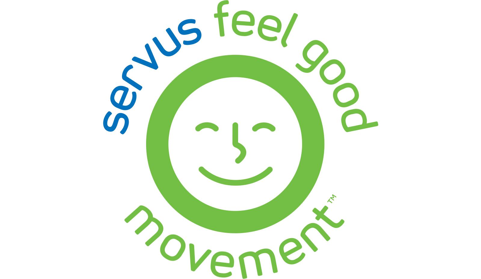 Servus Feel Good logo