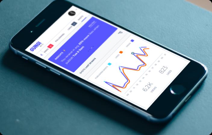 Mobile application design and development
