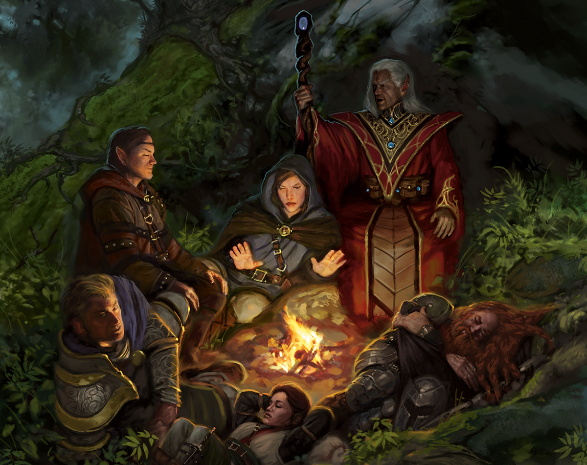 Art from Dungeons and dragons