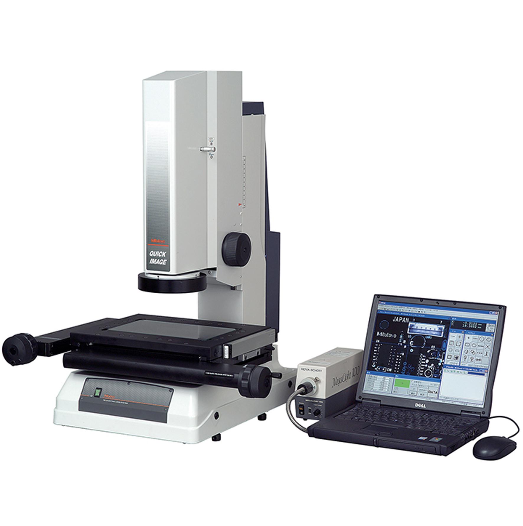 Medición por Visión 2D sin Contacto Serie 361 (QI-A1010C, QI-A2010C, QI-A2017C,