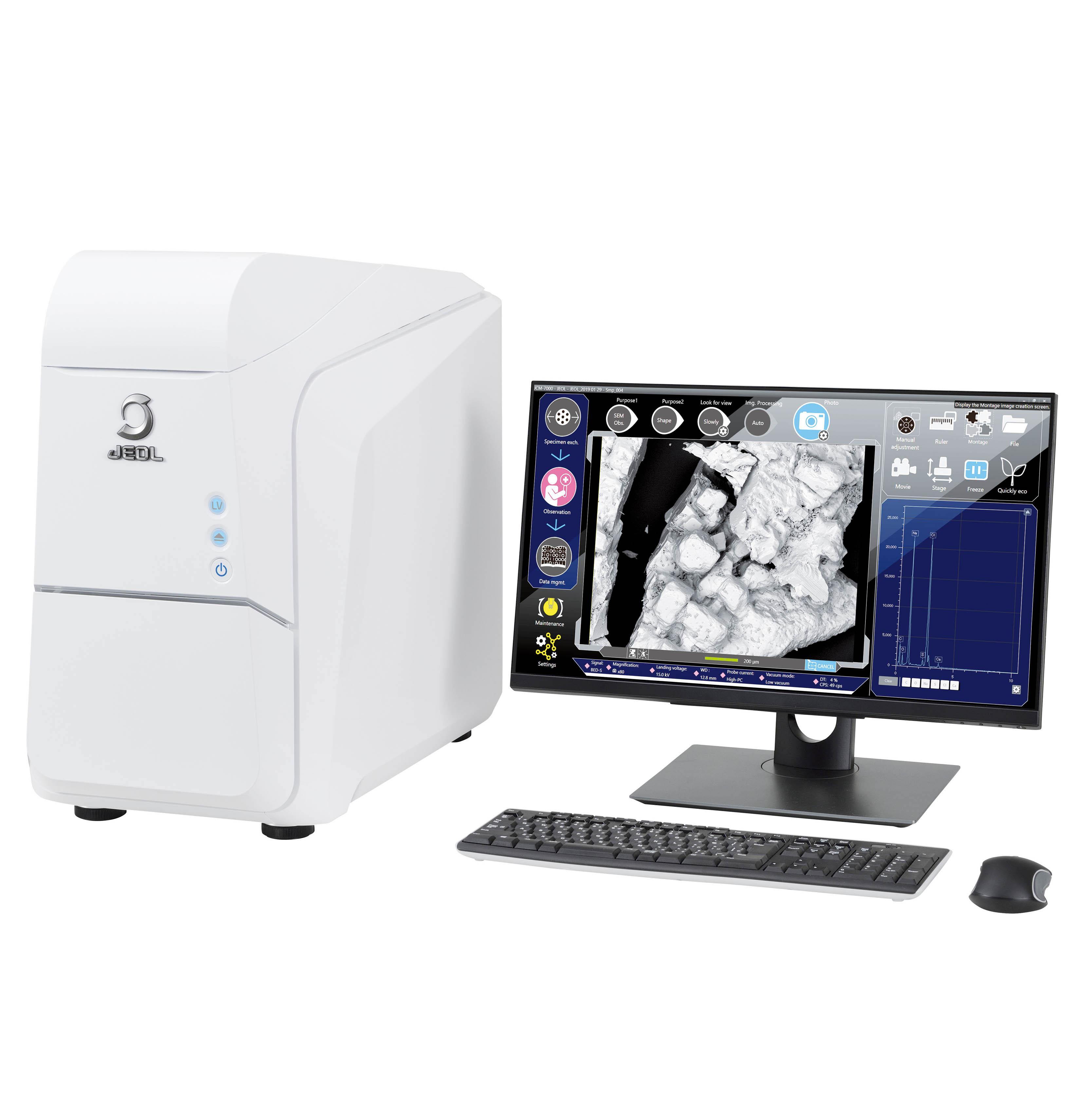 Microscopio Electrónico de Barrido JCM-7000