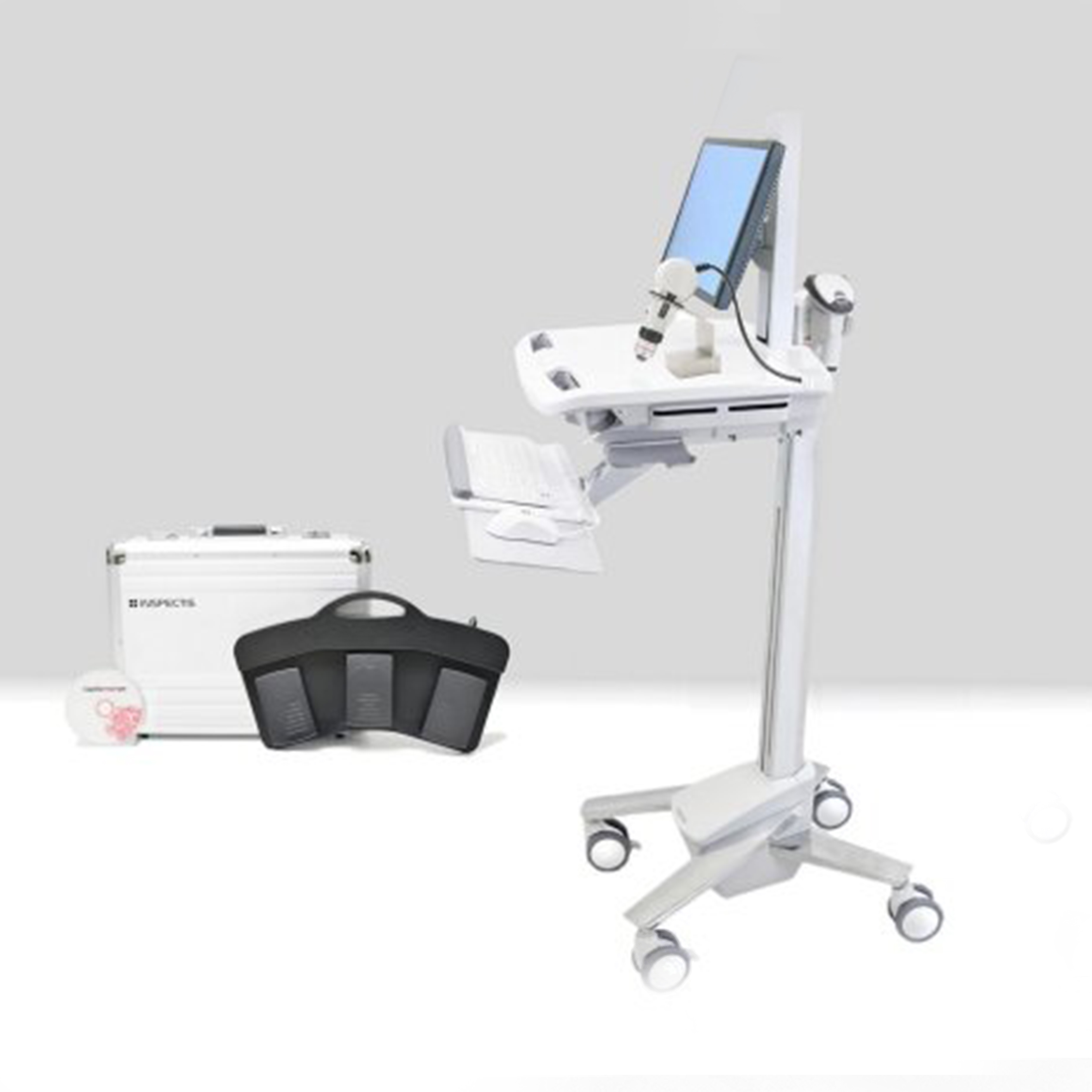 Video capilaroscopia del pliegue ungueal, extensa
