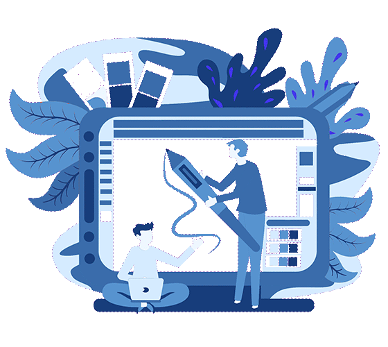 Visual design stage