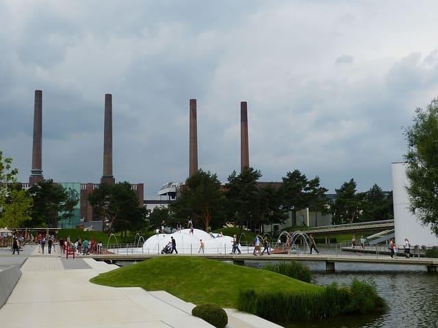 Wolfsburg Stadtsicht