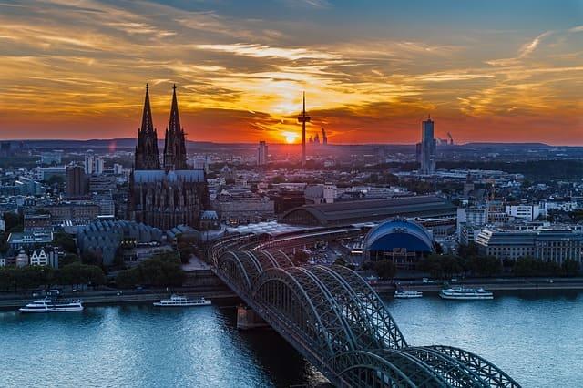 Köln Luftansicht