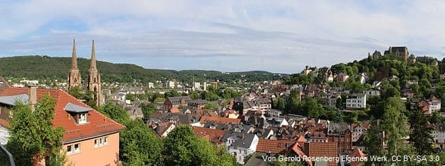 Messerschmidt Marburg Panorama