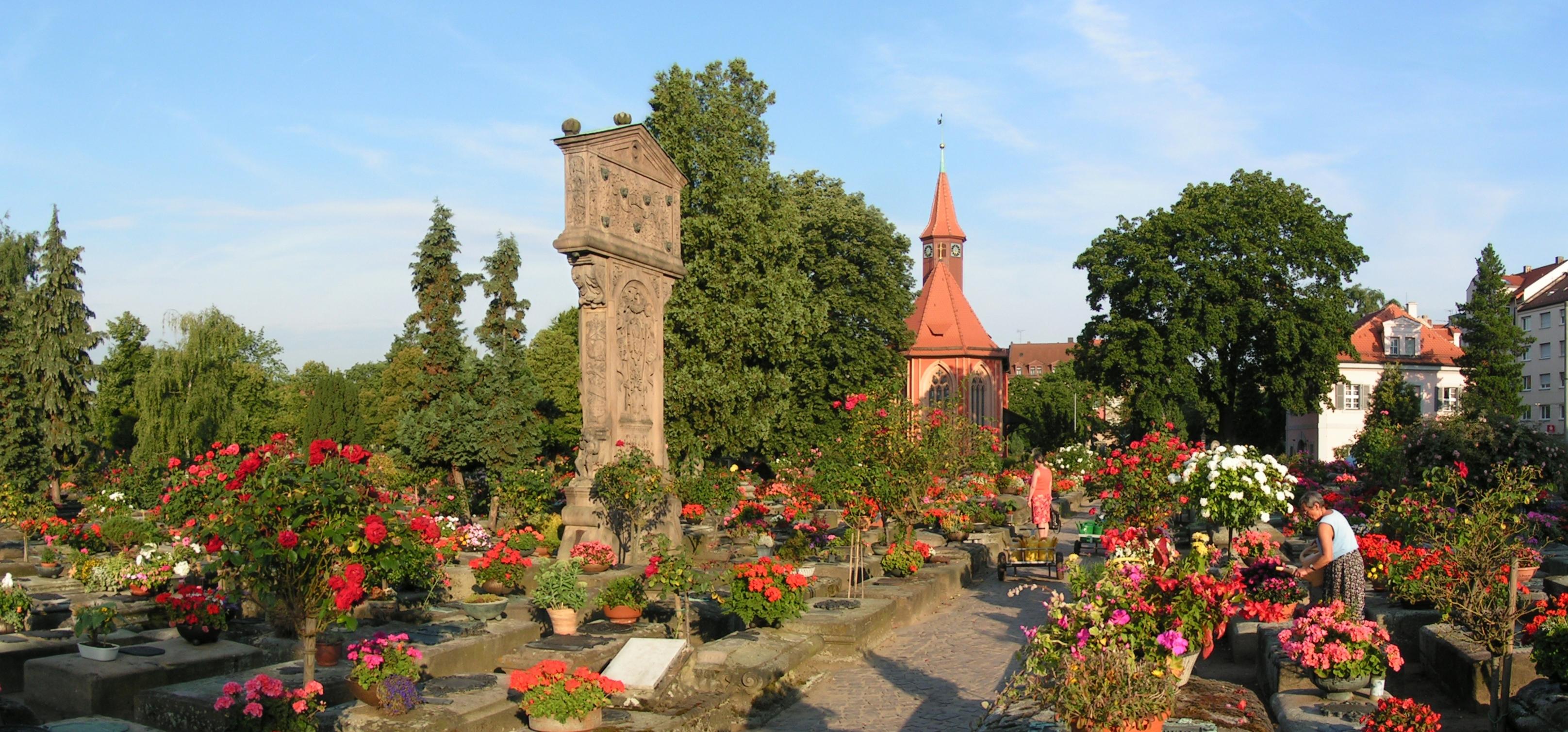 Friedhof in Nürnberg