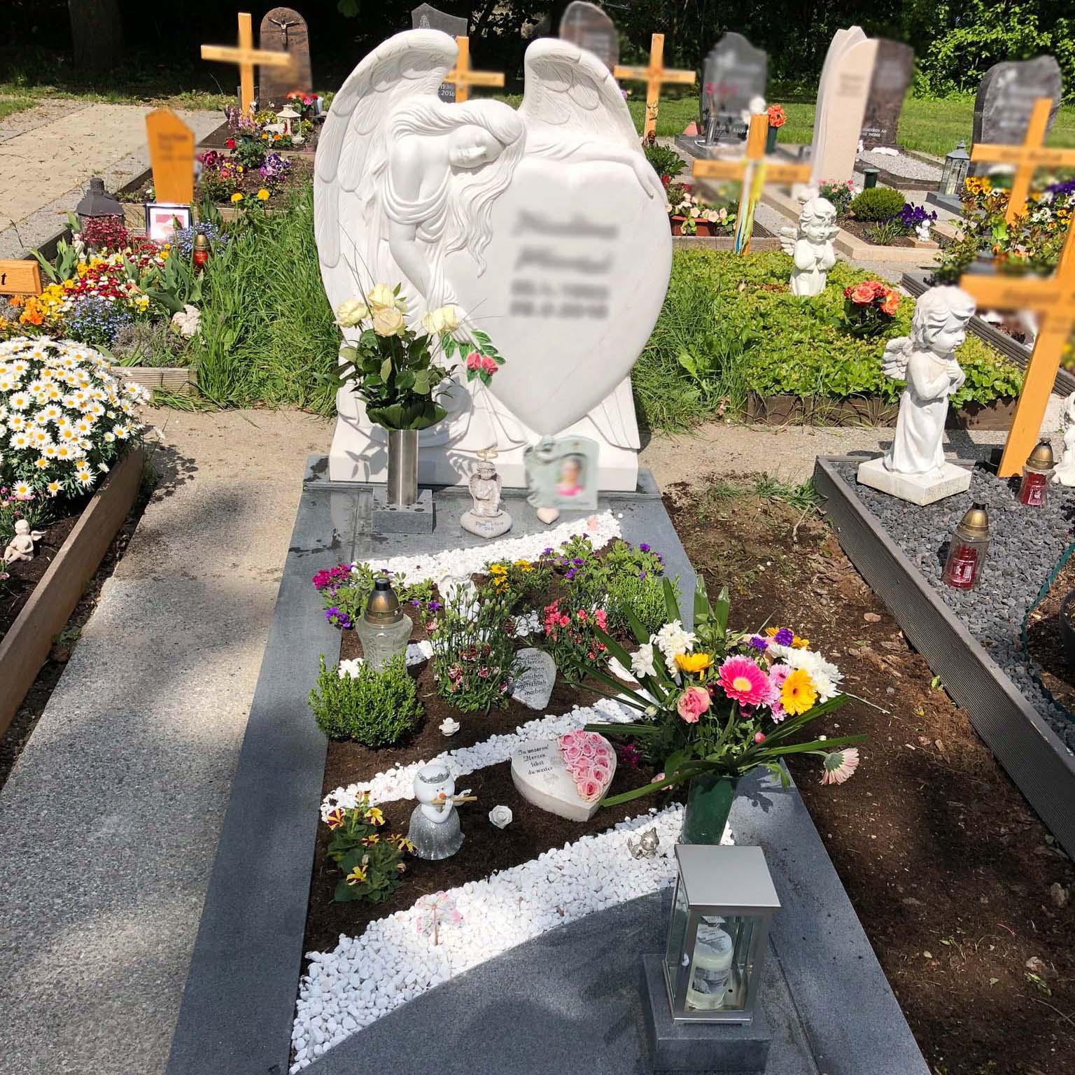 schönster Grabstein mit Engel in Deutschland